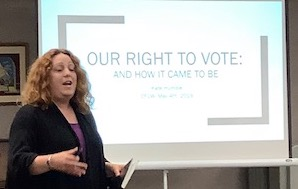 Kate Humble: Our Right to Vote and How It Came to Be